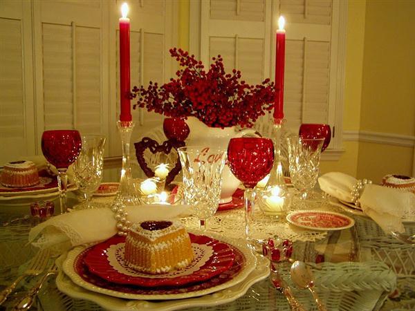 Стол на день святого Валентина - фото 7
