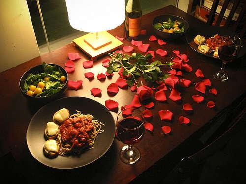 Стол на день святого Валентина - фото 11