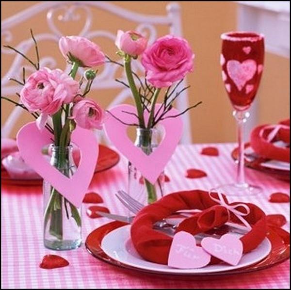 Стол на день святого Валентина - фото 5