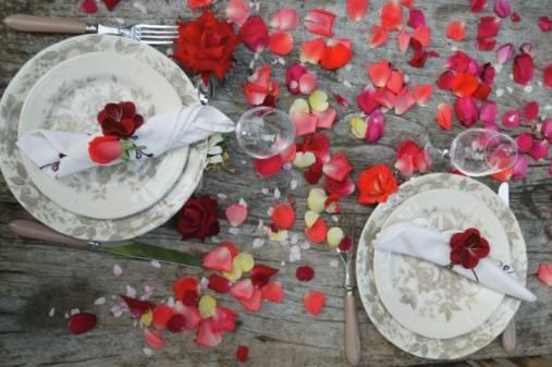 Стол на день святого Валентина - фото 18