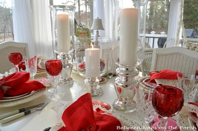 Стол на день святого Валентина - фото 20