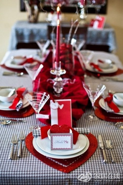 Стол на день святого Валентина - фото 24