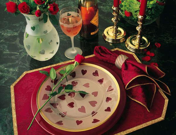 Стол на день святого Валентина - фото 13