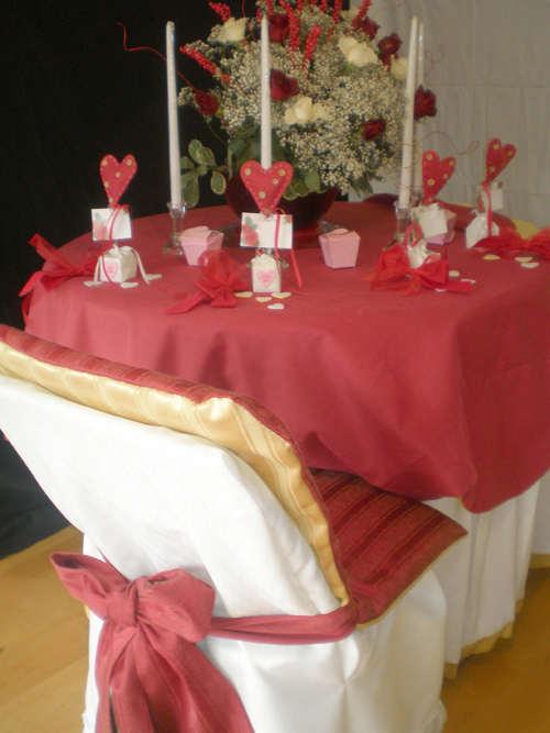 Стол на день святого Валентина - фото 21