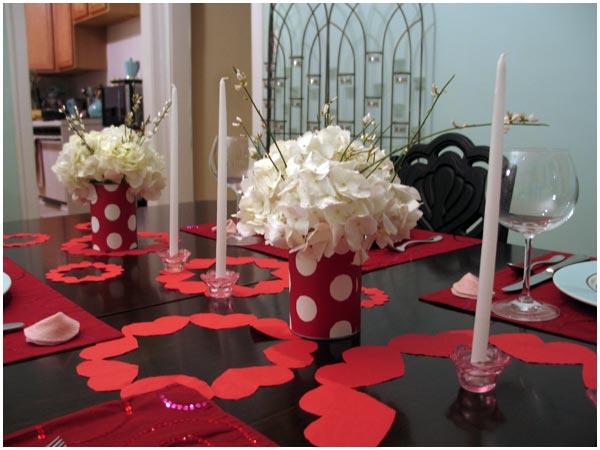 Стол на день святого Валентина - фото 8