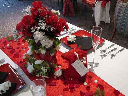 Стол на день святого Валентина - фото 12