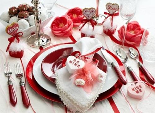 Стол на день святого Валентина - фото 14