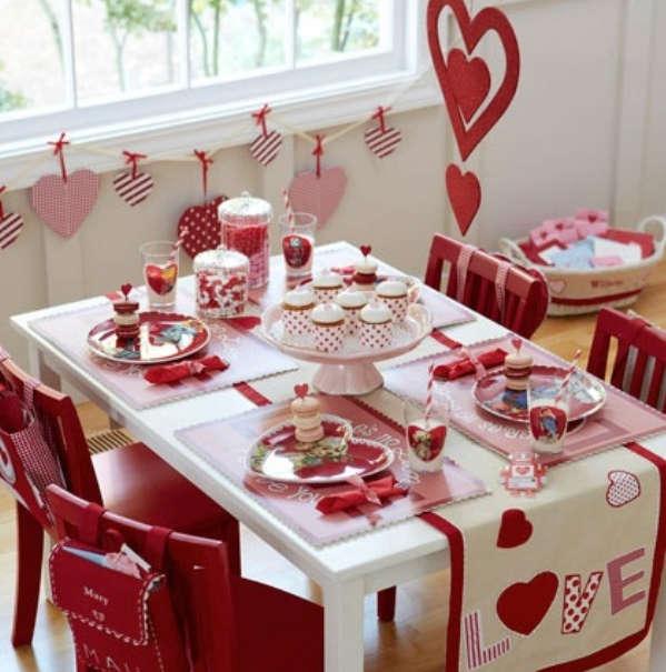 Стол на день святого Валентина - фото 6