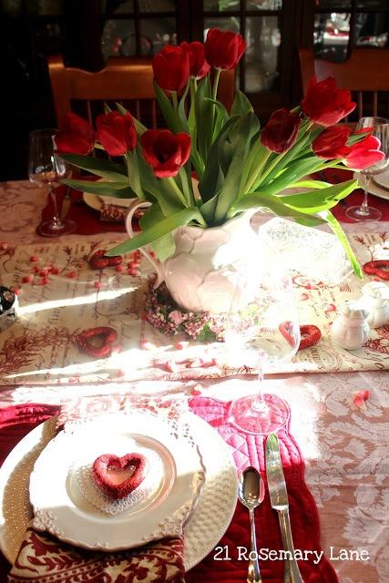 Стол на день святого Валентина - фото 25