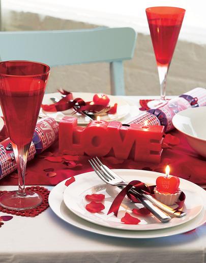 Стол на день святого Валентина - фото 23