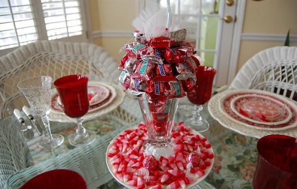 Стол на день святого Валентина - фото 15