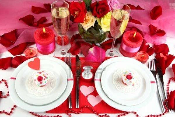 Стол на день святого Валентина - фото 16