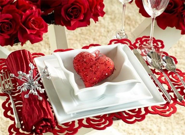 Стол на день святого Валентина - фото 10