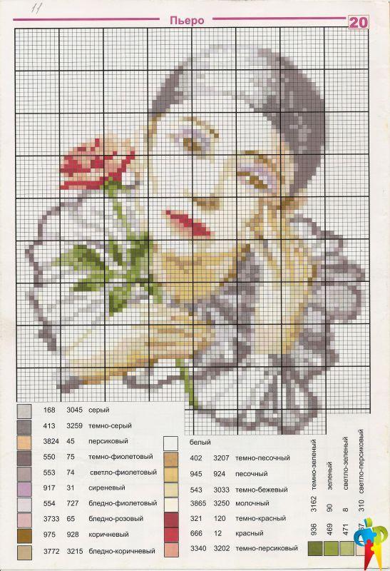 Схемы вышивки бисером - фото 7