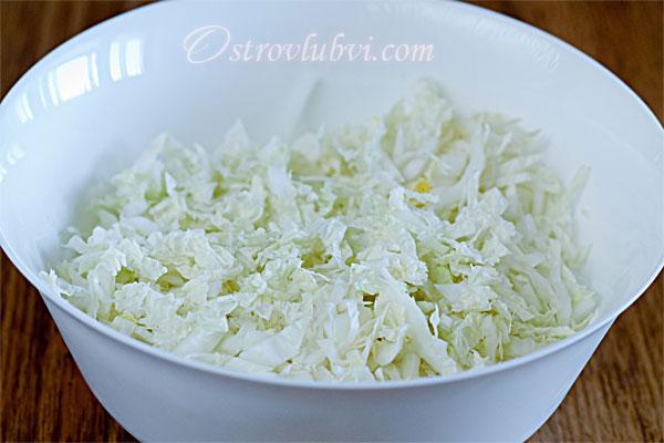 Салат из пекинской капусты - фото 2