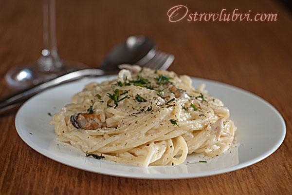 Спагетти с морепродуктами - фото 8