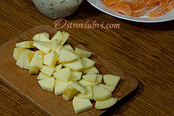 Салат из креветок и мандаринов - фото 4