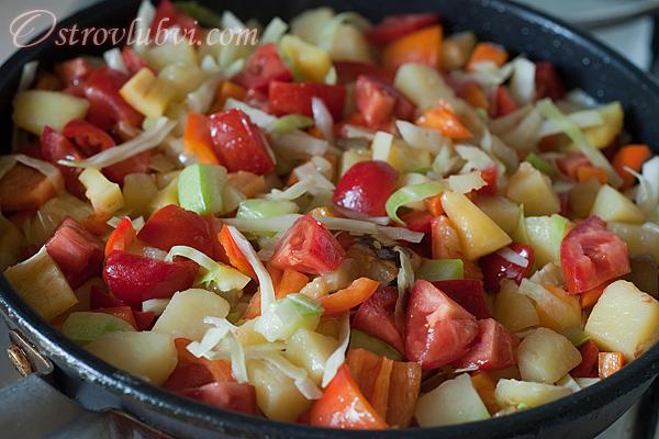 Овощное рагу -  фото 17