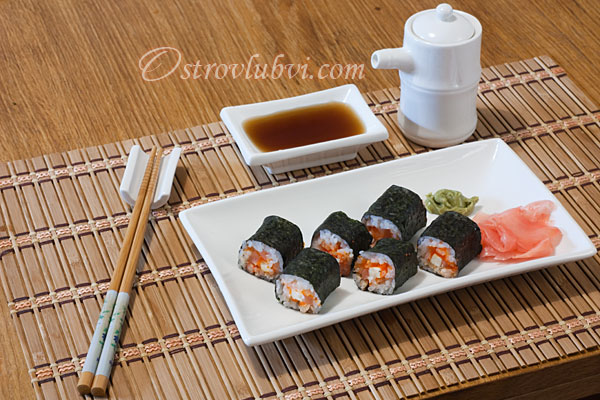 Готовим суши дома (фото 15)