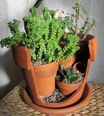 Горшки для цветов своими руками - фото 4