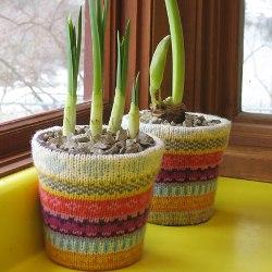 Горшки для цветов своими руками - фото 6