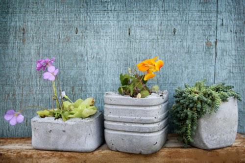 Горшки для цветов своими руками - фото 16