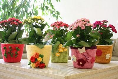 Горшки для цветов своими руками - фото 13