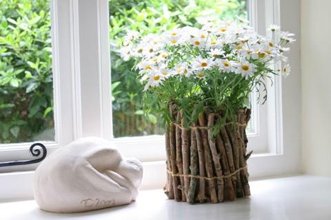 Горшки для цветов своими руками - фото 11