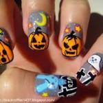 Маникюр на Хэллоуин - фото 9