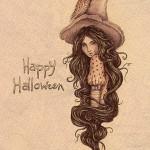 Открытки на Хэллоуин - фото 19