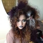 Прически на Хэллоуин - фото 13