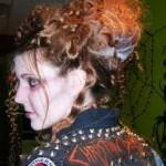 Прически на Хэллоуин - фото 20