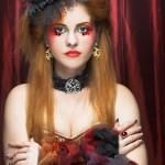 Прически на Хэллоуин - фото 24
