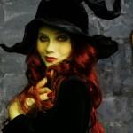 Прически на Хэллоуин - фото 35