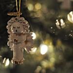 Новогодние игрушки из макарон - фото 3