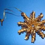 Новогодние игрушки из макарон - фото 20