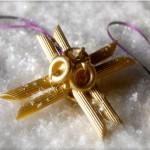 Новогодние игрушки из макарон