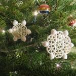 Новогодние игрушки из макарон - фото 9