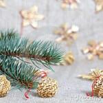 Новогодние игрушки из соломы - фото 10