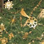 Новогодние игрушки из соломы - фото 13