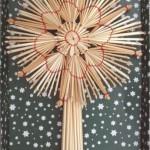 Новогодние игрушки из соломы - фото 12