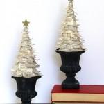 Новогодние игрушки с книжных листов - фото 15