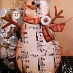 Новогодние игрушки с книжных листов - фото 20