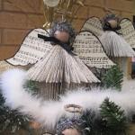 Новогодние игрушки с книжных листов - фото 21