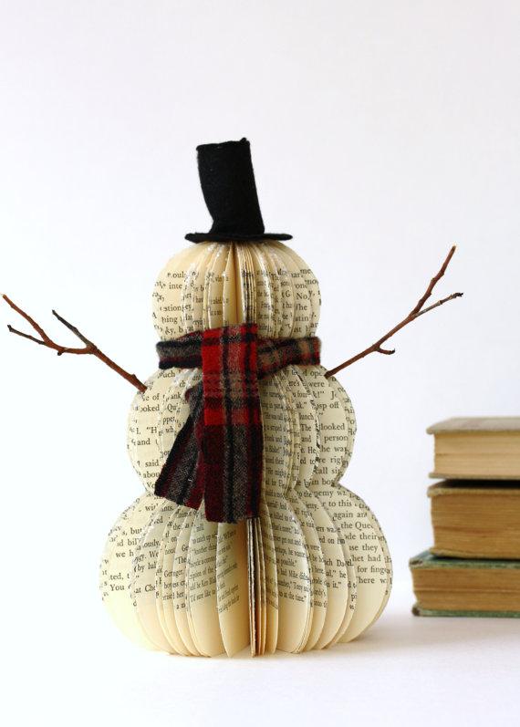 Новогодние игрушки со старых книг