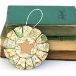 Новогодние игрушки с книжных листов - фото 7