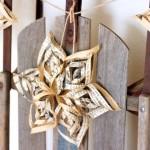 Новогодние игрушки с книжных листов - фото 9