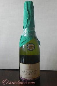 Новогодний декор бутылки шампанского - фото 5