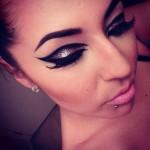 Новогодний макияж - фото 24