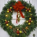 Рождественские венки - фото 16